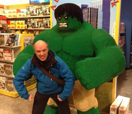 Lego Hulk at Toys R Us