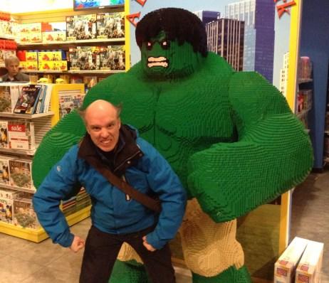 Lego Hulk at Toys R Us