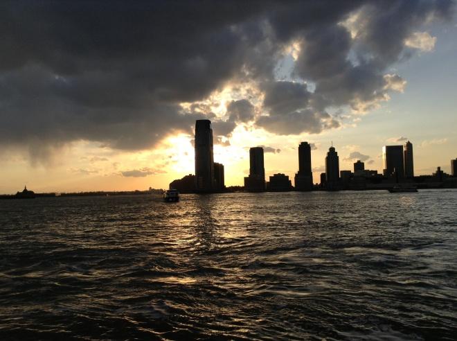 Sundown on Waterfront