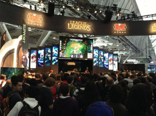 League Of Legends at PAX