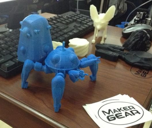 Maker Gear 3D printed Tachikoma