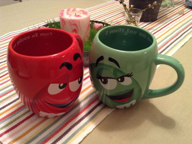 My M&M Mugs