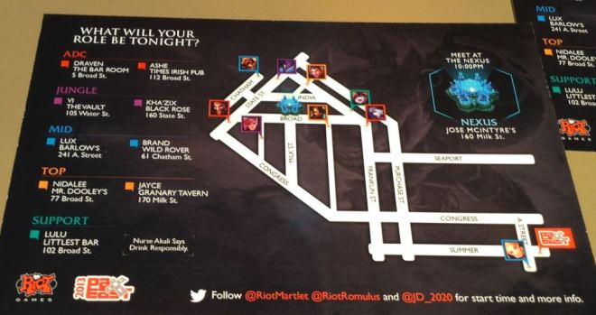 League Of Legends Pub Crawl