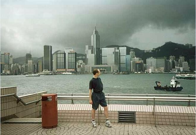 Hong Kong Harbor 1994