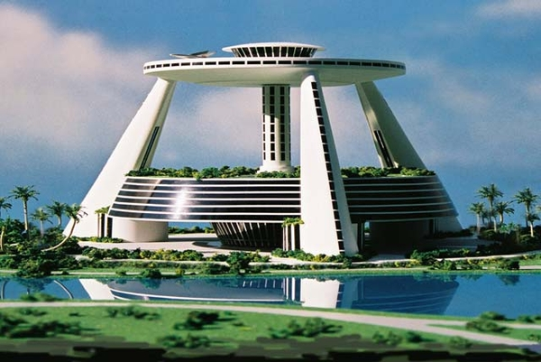 Jacque Fresco Venus Project Building