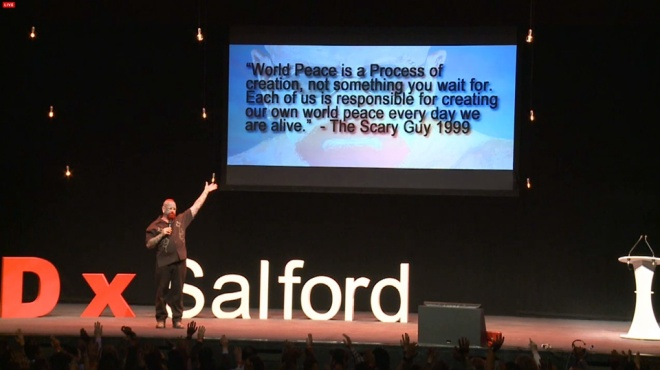 The Scary Guy - TEDxSalford