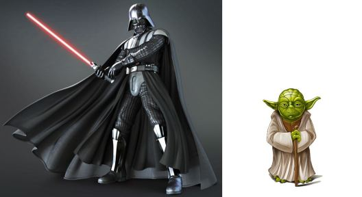 Vader vs Yoda - The Old Quest