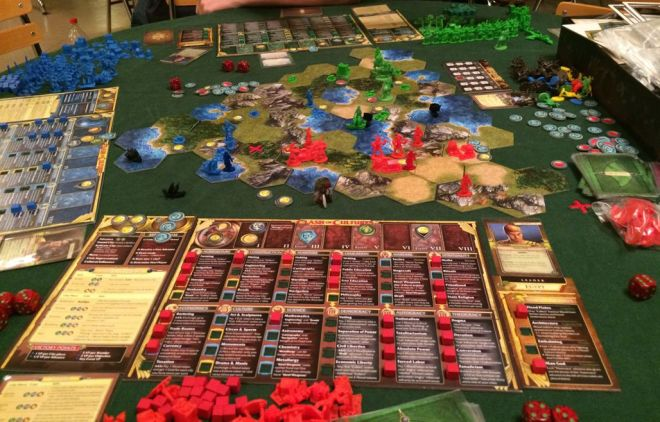 Clash of Cultures the Civilization Boardgame