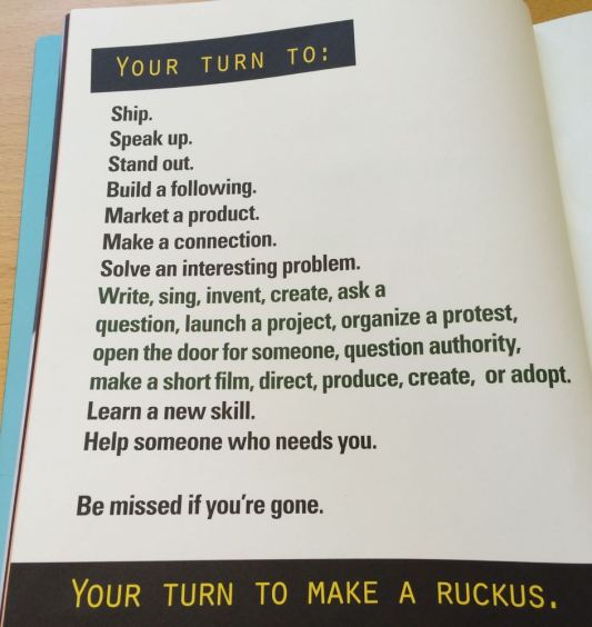Go make a Ruckus!