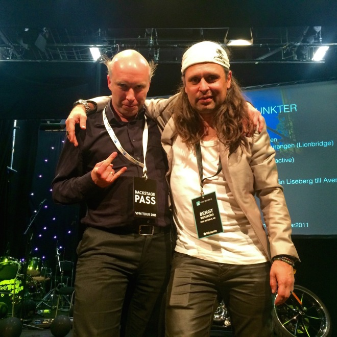 These guys rocked #VFM15 @lordsillion & @bengtwessborg