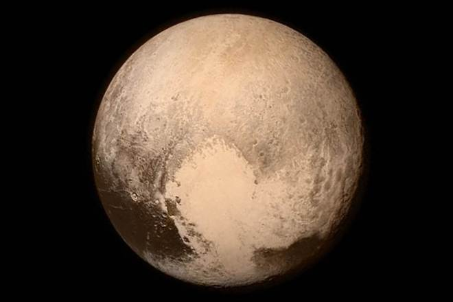 From Pluto With Love!