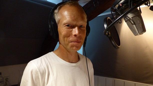 Johan Rockström i Sommarstudion. Foto: Jonas Ekblom/SR