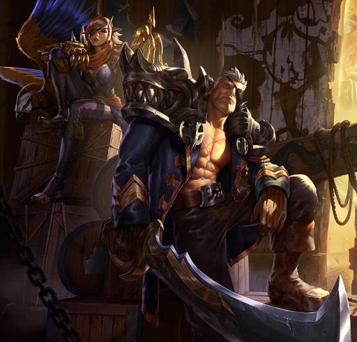 Corsair Quinn & Rouge Admiral Garen