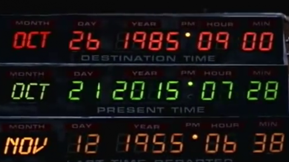 Back To The Future October 21, 2015