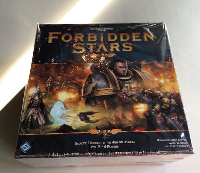 Forbidden Stars represents a not so desirable future 40K years from now. Also this a thought experience of a kind.