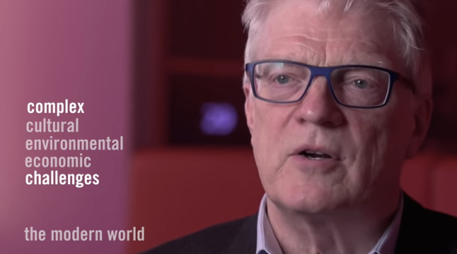 Ken Robinson on our 3 big challenges