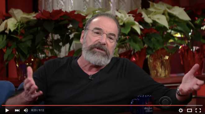Mandy Patinkin - Exercise your humanity