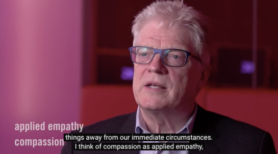 Ken Robinson - We need , Creativity - Compassion - Composure Collaboration